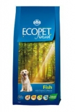 Ecopet Natural Adult Fish Mini 12kg +2kg zdarma