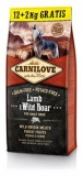 Carnilove Lamb & Wild Boar for Adult 12+2 kg