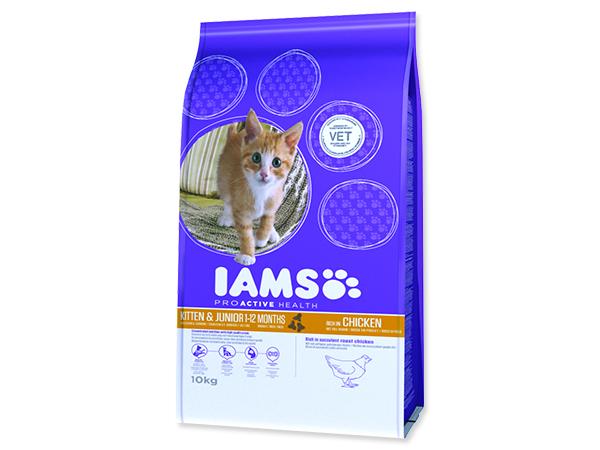 IAMS Kitten rich in Chicken 10kg