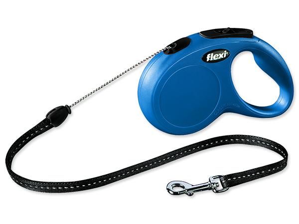Vodítko FLEXI Classic new lanko modré S - 5 m 1ks
