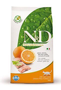 N&D GF CAT Adult Fish & Orange 1,5kg