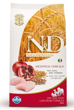 N&D LG DOG Adult Chicken & Pomegranate 800g