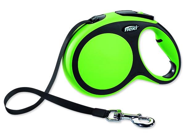 Vodítko FLEXI New Comfort páska zelené L - 8 m 1ks