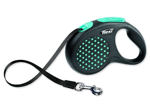 Vodítko FLEXI Design páska modré S 1ks