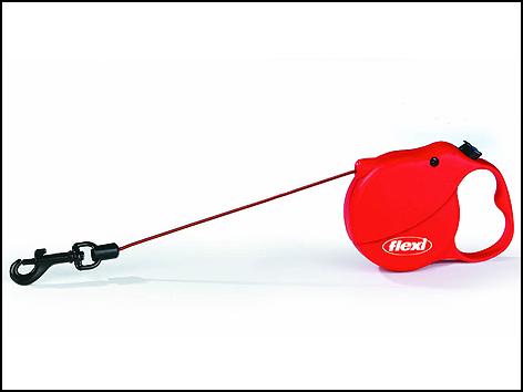 Vodítko FLEXI Mini 3 červené 1ks