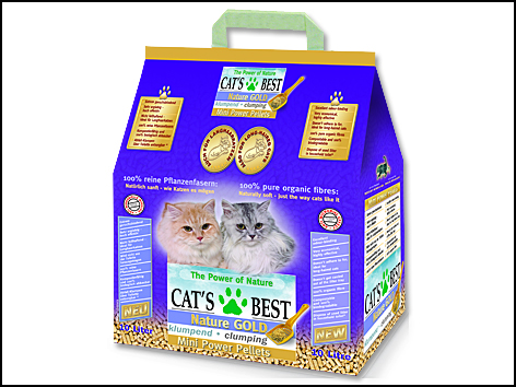 Kočkolit JRS Cat's Best Nature Gold 10l