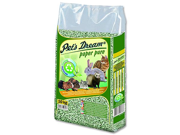 Pelety JRS Pet`s Dream Paper Pure 10kg