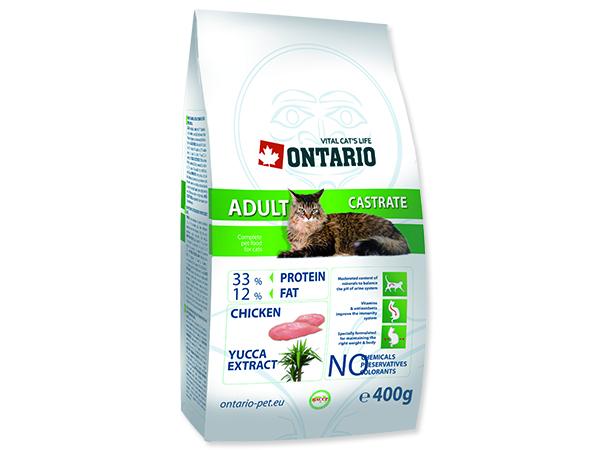 ONTARIO Cat Adult Castrate 400g