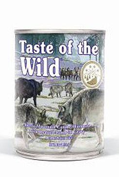 Taste of the Wild konzerva Sierra Mountain 375g