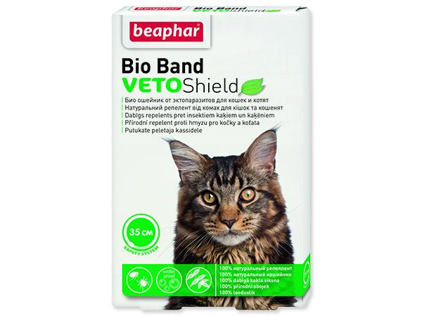 Obojek repelentní BEAPHAR Bio Band Veto Shield 35 cm 1ks