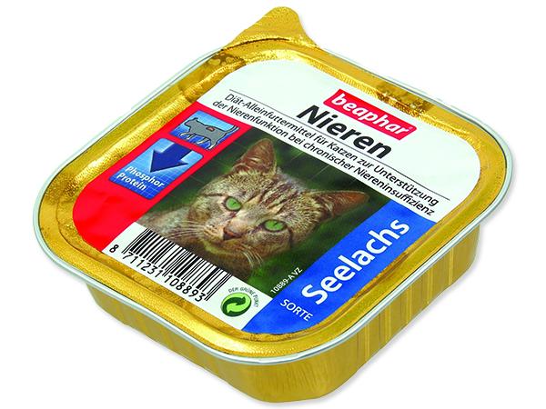 Paštika BEAPHAR Renální dieta pro kočky s treskou 100g