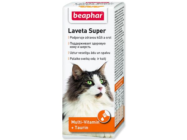 Kapky BEAPHAR pes a kočka Laveta Super vyživující srst 50ml
