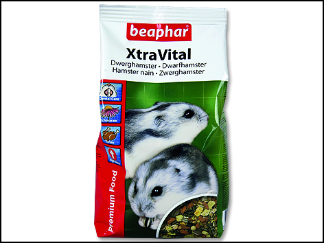 BEAPHAR XtraVital zakrslý křeček 500g