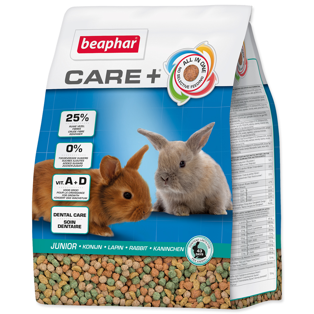 BEAPHAR CARE+ Junior králík 250g