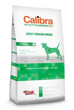 Calibra Dog HA Adult Medium Breed Lamb 14kg