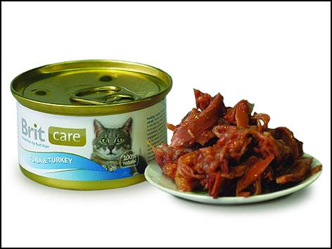 Konzerva BRIT Care Cat Tuna & Turkey 80g