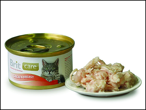 Konzerva BRIT Care Cat Chicken Breast 80g