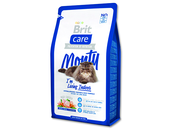 BRIT Care Cat Monty I`m Living Indoor 7kg