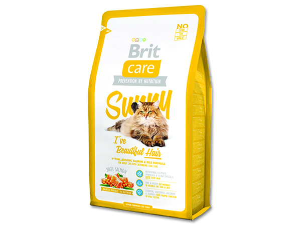 BRIT Care Cat Sunny I`ve Beautiful Hair 7kg