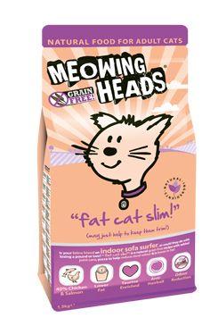 MEOWING HEADS Fat Cat Slim 1.5kg