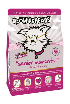 MEOWING HEADS Senior Moments 250g