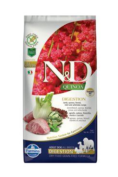 N&D GF Quinoa DOG Digestion Lamb & Fennel 7kg