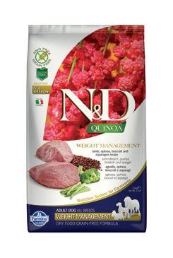 N&D GF Quinoa DOG Weight Mnmgnt Lamb & Broccoli 2,5kg