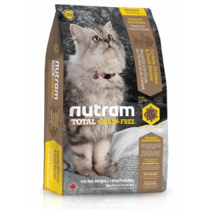 T22 Nutram Total Grain Free Turkey, Chicken & Duck Cat 6,8 kg bezobilné krmivo