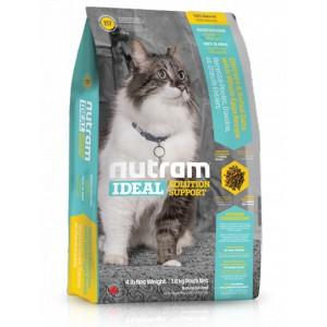 Nutram Ideal Indoor Cat 6,8 kg - pro kočky chované v bytě
