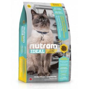 Nutram Ideal Sensitive Cat 6,8 kg (pro citlivé dospělé kočky s problematickou kůží, srstí a zažíváním)