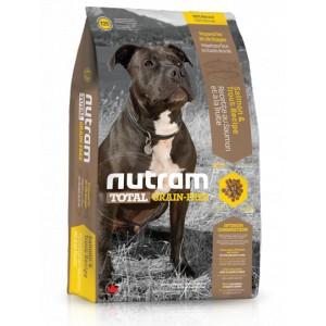 Nutram Total Grain Free Salmon Trout Dog 13,6 kg (bezobilné krmivo, losos a pstruh, pro psy)