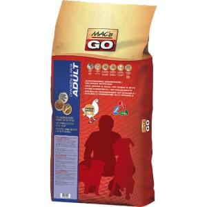 Dry MACs Dog GO DOSPĚLÝ PES 12 kg - KUŘE a RÝŽE