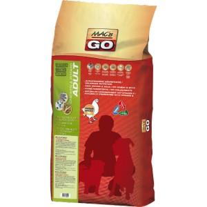 Dry MACs Dog GO DOSPĚLÝ PES 3 kg - KUŘE a BRAMBORY - GRAIN FREE