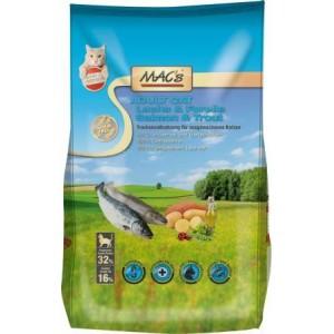 Dry MACs Cat DOSPĚLÁ KOČKA - LOSOS a PSTRUH 7 kg