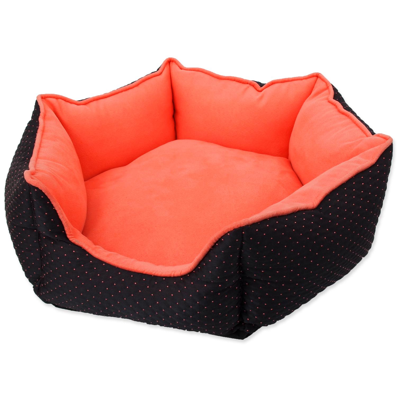 Pelech DOG FANTASY černo-oranžový 45 cm 1ks