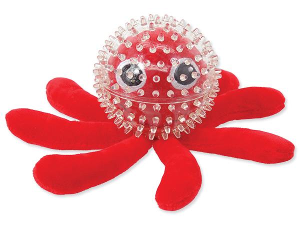 Hračka DF SEA TPR chobotnice v míčku 9 cm 1ks