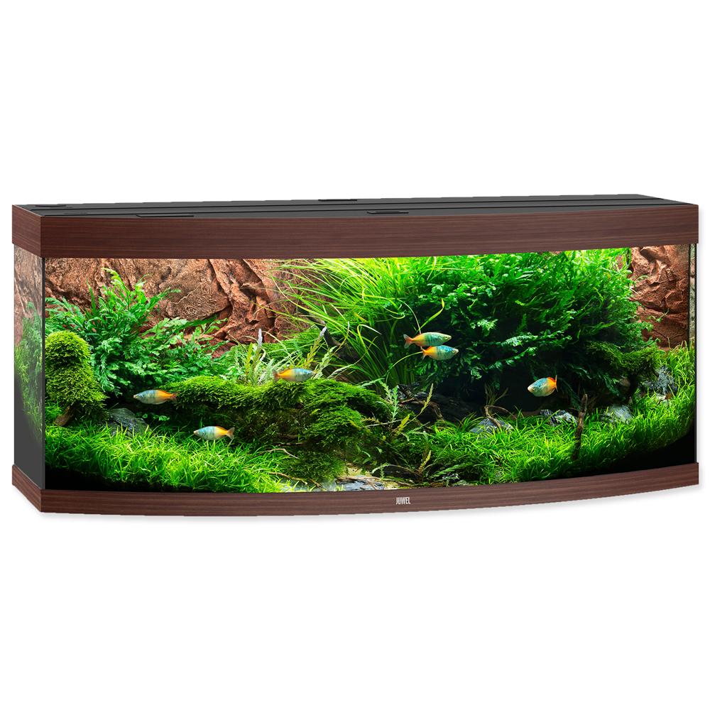 Akvárium set JUWEL Vision LED 450 tmavě hnědé (450l