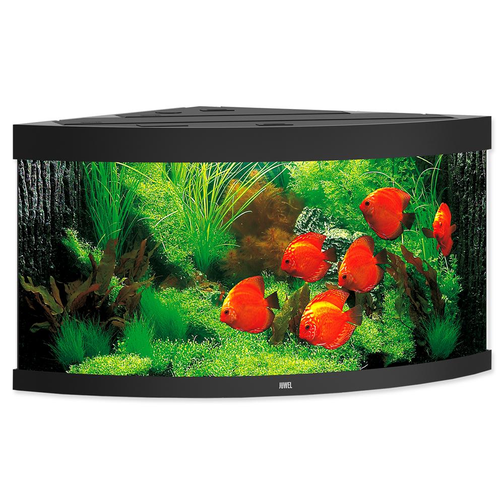 Akvárium set JUWEL Trigon LED 350 černé 350l