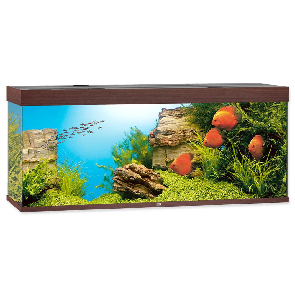 Akvárium set JUWEL Rio LED 450 tmavě hnědé 450l