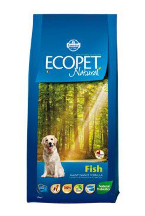 Ecopet Natural Adult Fish Maxi 12kg +2kg zdarma