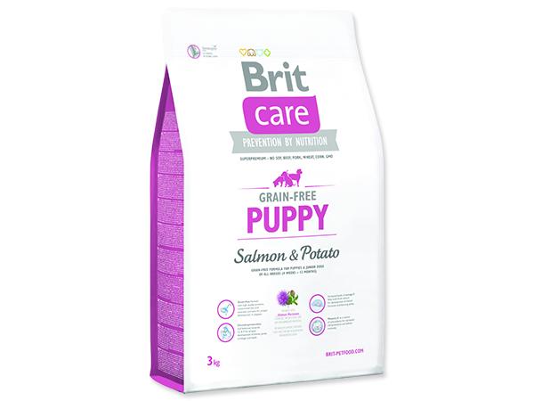 BRIT Care Grain-free Puppy Salmon & Potato 3kg