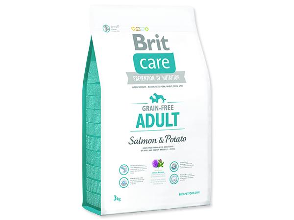 BRIT Care Grain-free Dog Adult Salmon & Potato 3kg