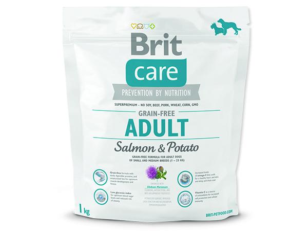 BRIT Care Grain-free Dog Adult Salmon & Potato 1kg