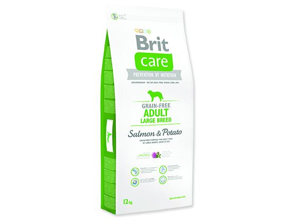 BRIT Care Grain-free Dog Adult Large Breed Salmon & Potato 12kg