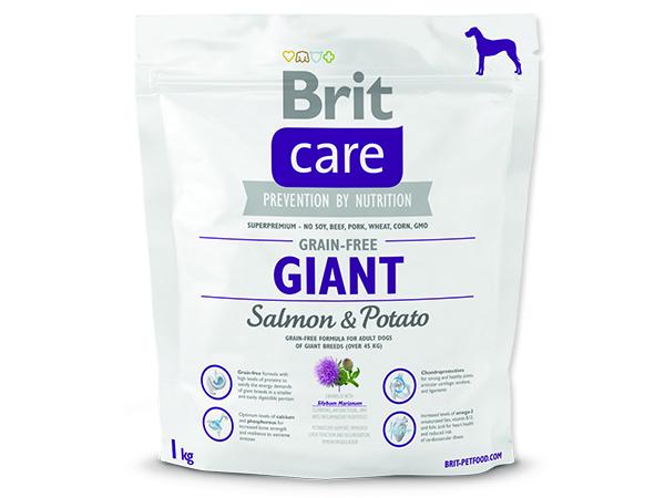 BRIT Care Grain-free Dog Giant Salmon & Potato 1kg