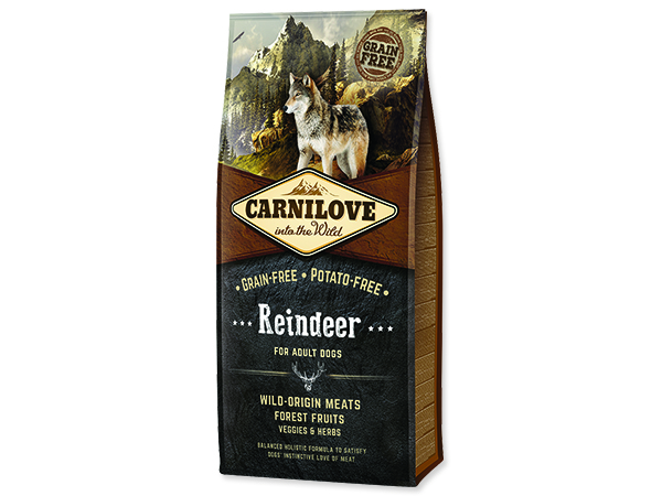 CARNILOVE Reindeer for Dog Adult 12kg