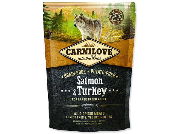 CARNILOVE Salmon & Turkey for Dog Large Breed Adult 1,5kg