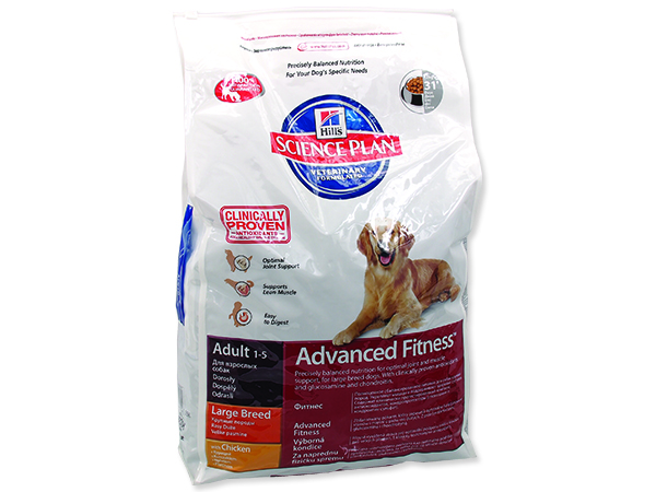 HILL`S SP Canine Adult Advanced Fitness Large Breed Chicken 18kg