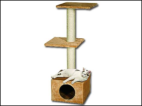 Odpočívadlo MAGIC CAT Alexia béžové 109 cm 1ks