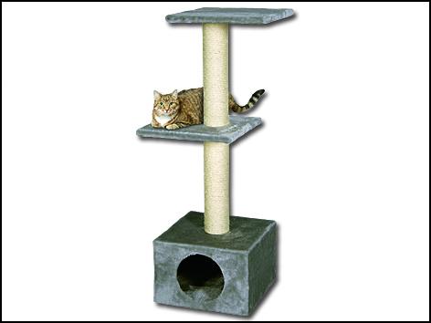Odpočívadlo MAGIC CAT Alexia šedé 109 cm 1ks